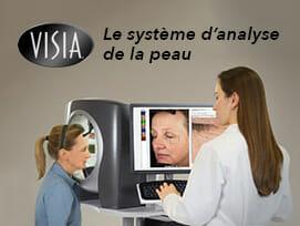 Système d'Analyse de la peau VISIA chez PEAU.