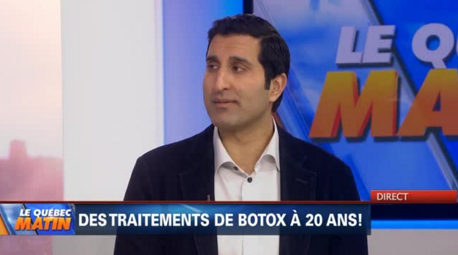 Traitement de botox à 20 ans